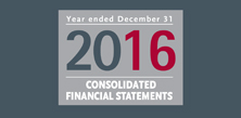 Consolidated Financial Statements 2016